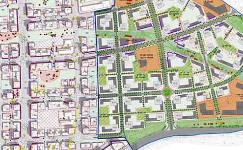 ממחנה צבאי למרחב עירוני-תכנית הבינוי בצריפין