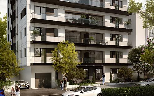 דיירי הבניין במרכז רמת השרון שיקבלו דירה חדשה ומרפסת