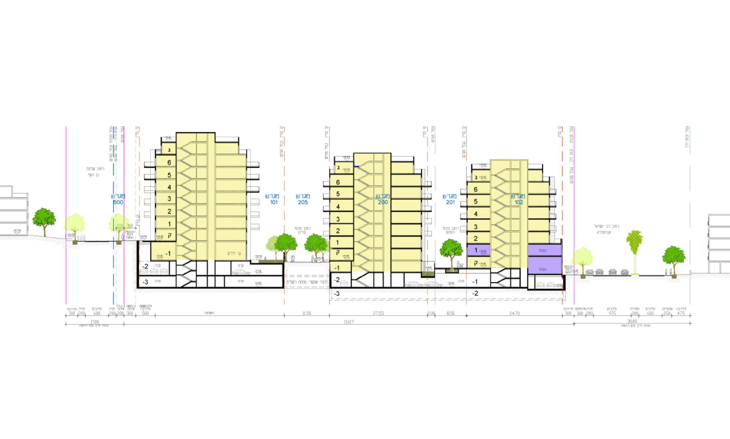 אבו חצירא מסוף/מגורים – תכנון מפורט לביצוע – שלב א׳