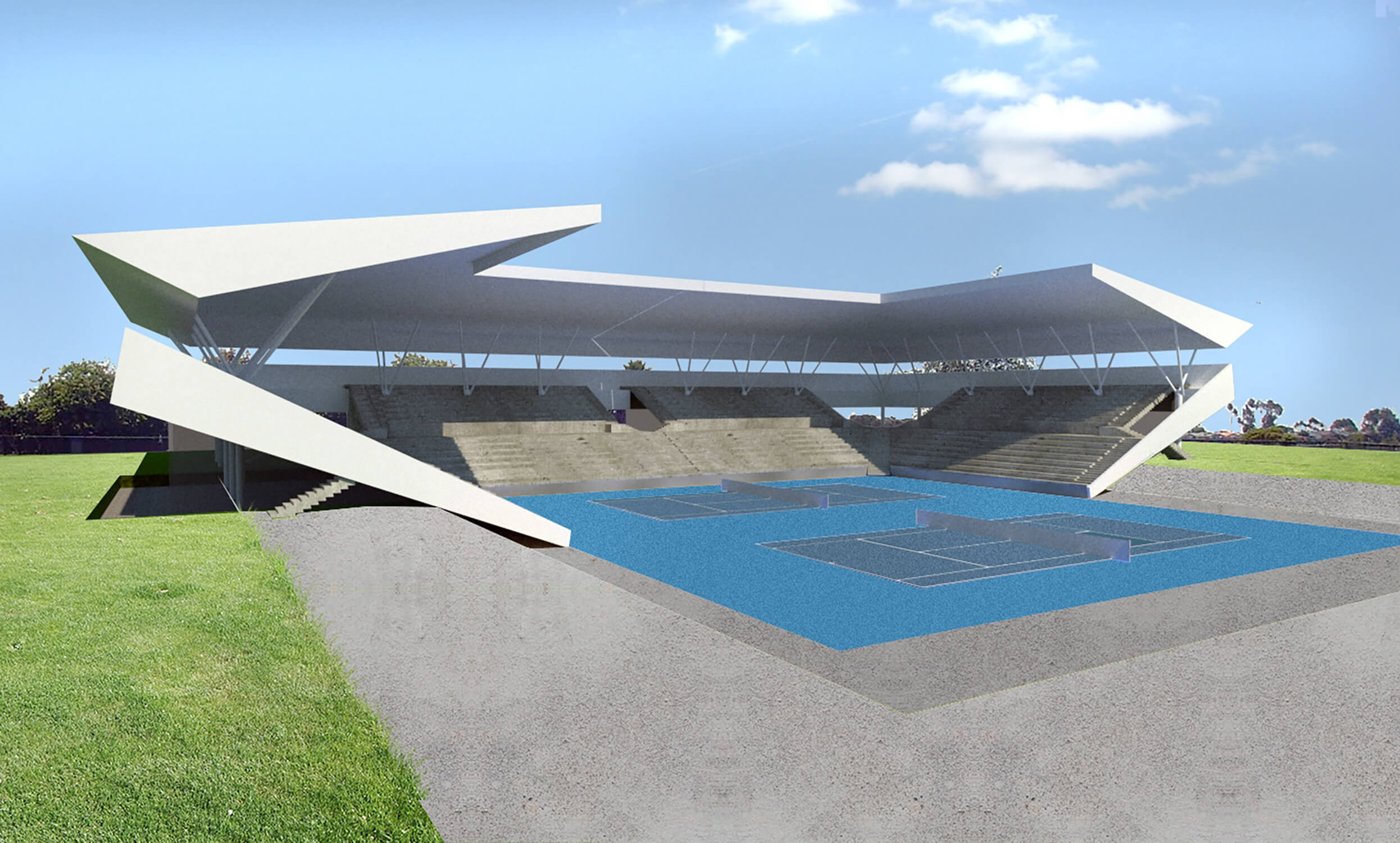 אצטדיון הטניס